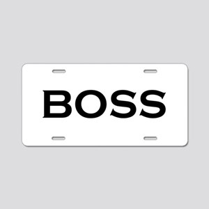 BOSS Aluminum License Plate