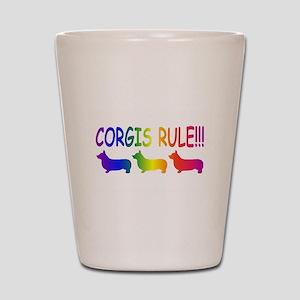 Corgi Shot Glass