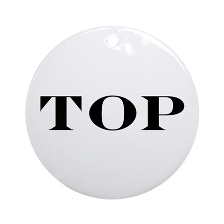TOP Ornament (Round)