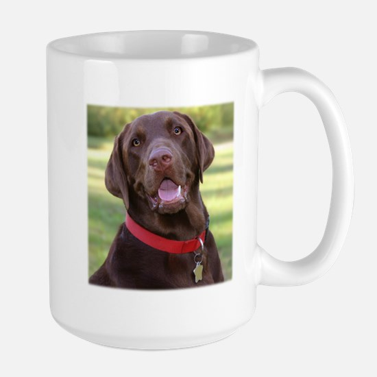 Chocolate Lab Large Mug