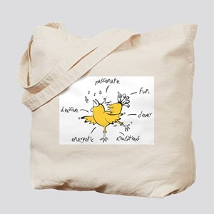 Chinese Birth Sign - Rooster - Tote Bag