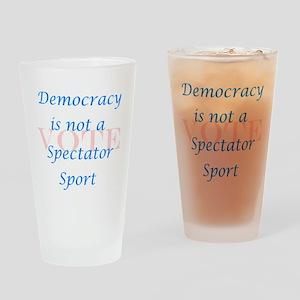 SS Bl/Pk Drinking Glass