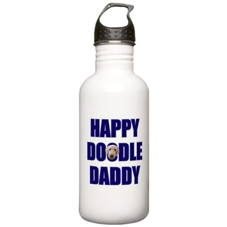 Goldendoodle Dad Stainless Water Bottle 1.0L