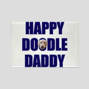 Goldendoodle Dad Rectangle Magnet