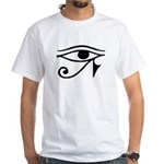 Eye of Horus White T-Shirt