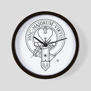 Clan Logan Wall Clock