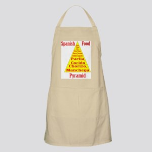 Spanish Food Pyramid Apron