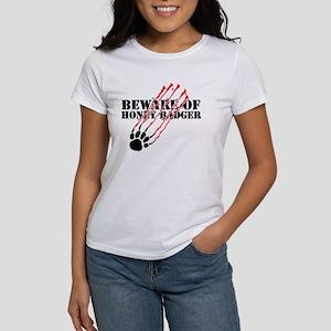 Beware of honey badger Women's T-Shirt