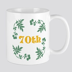 70th Birthday or Anniversary Mug