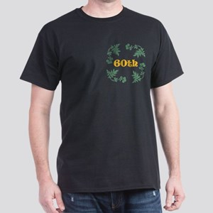 60th Birthday or Anniversary Dark T-Shirt