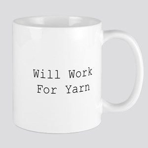 Will Work For Yarn Mugs