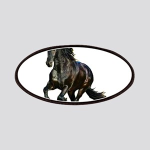 Black Stallion Horse Patches