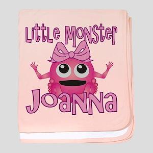 Little Monster Joanna baby blanket