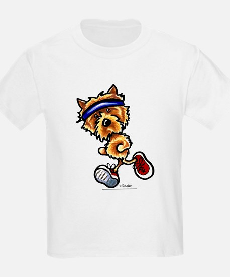 Norwich Terrier Running T-Shirt