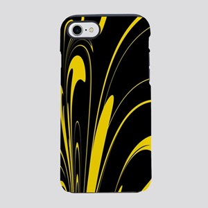 Black and Yellow iPhone 7 Tough Case