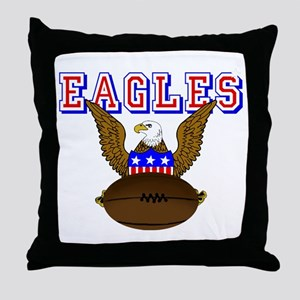 USA Rugby Throw Pillow