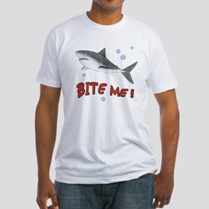 Shark - Bite Me Fitted T-Shirt