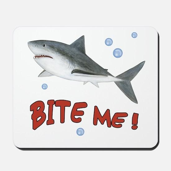 Shark - Bite Me Mousepad