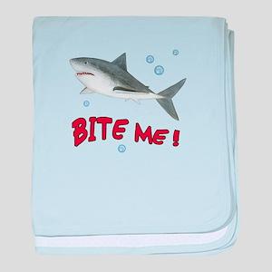 Shark - Bite Me baby blanket