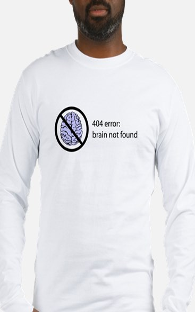 Brain Not Found Long Sleeve T-Shirt