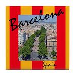 Barcelona Tile Coaster