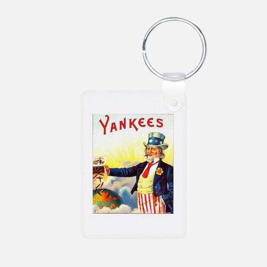 Yankees Cigar Label Keychains
