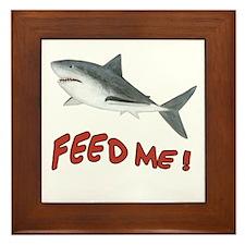 Shark - Feed Me Framed Tile