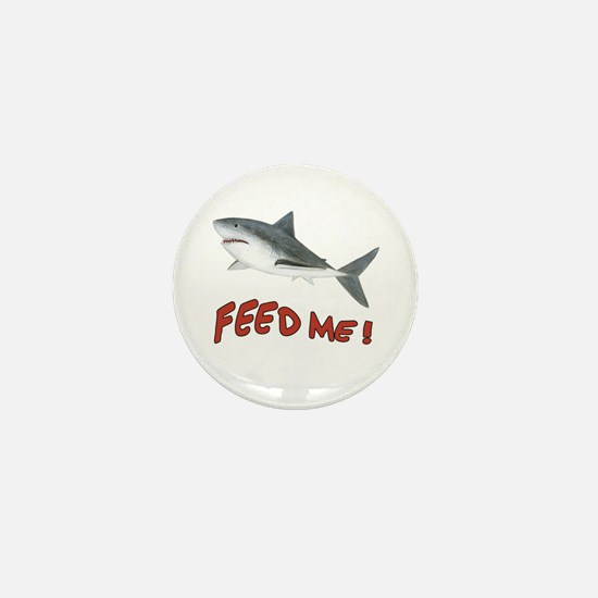 Shark - Feed Me Mini Button