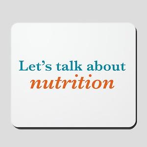 Talk Nutrition Mousepad