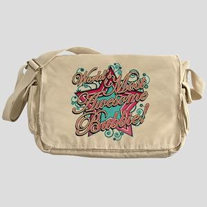 Worlds Best Bubbie Messenger Bag