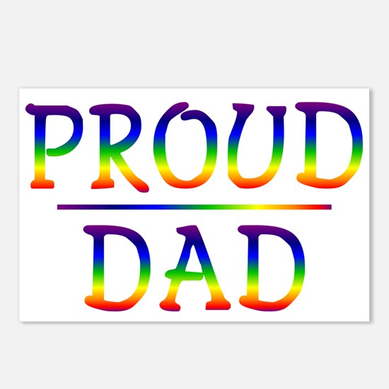Proud Dad Postcards (Package of 8)