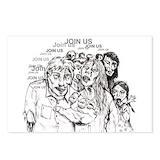 Zombie Postcards