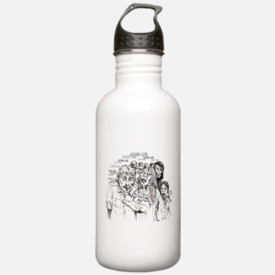 Cute Zombie Water Bottle