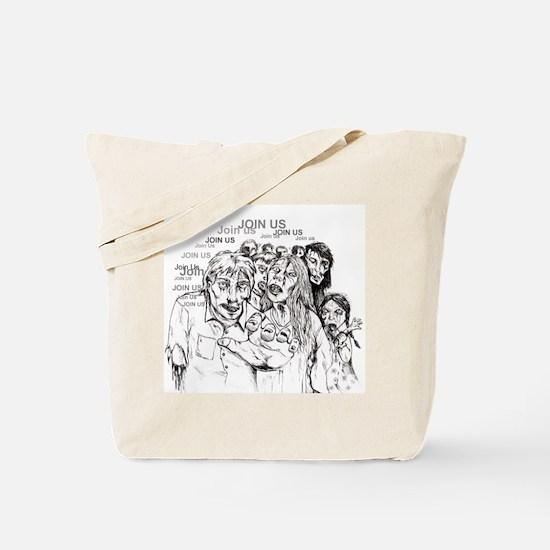 Cute Zombie Tote Bag