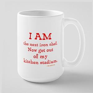Iron chef Large Mug