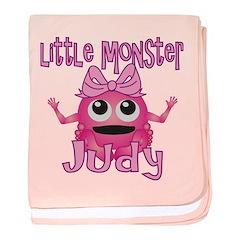 Little Monster Judy baby blanket
