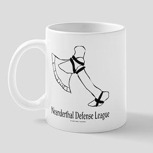 Neanderthal Defense League Mug