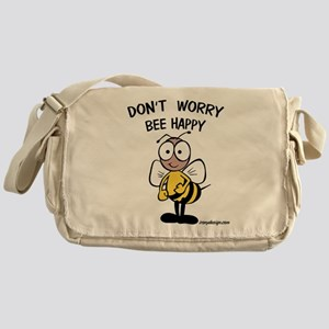 Don't Worry Bee Messenger Bag