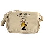 Don't Worry Bee Messenger Bag