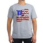 Tax the Rich Men's Fitted T-Shirt (dark)