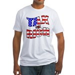 Tax the Rich Fitted T-Shirt