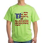 Tax the Rich Green T-Shirt