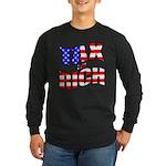Tax the Rich Long Sleeve Dark T-Shirt