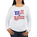 Tax the Rich Women's Long Sleeve T-Shirt