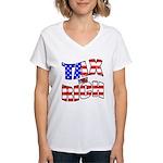 Tax the Rich Women's V-Neck T-Shirt