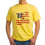 Tax the Rich Yellow T-Shirt
