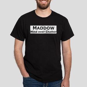 maddow_mind bumper_black letters T-Shirt