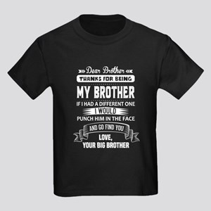 Thanks For Being My Brother, Your Big Brother T-Sh