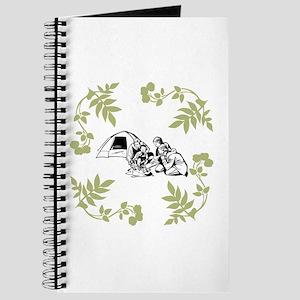 Camping Trip - Khaki Green. Journal