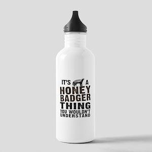 Honey Badger Thing Stainless Water Bottle 1.0L